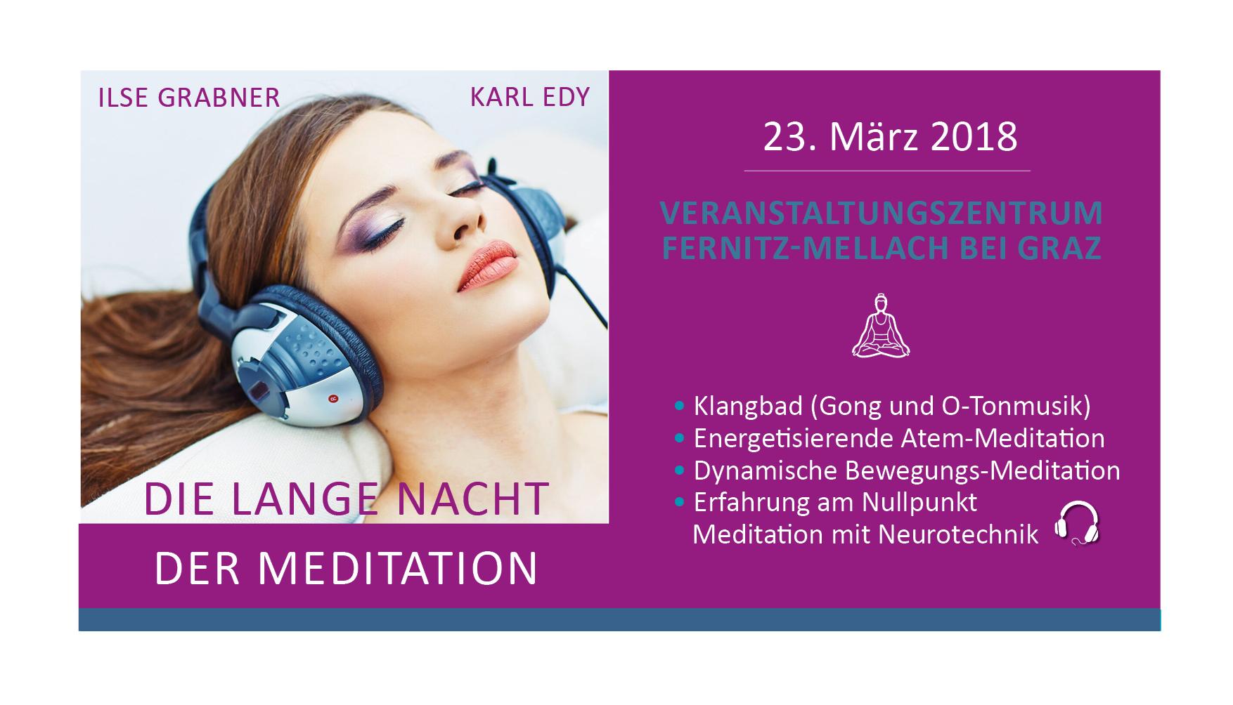 Die lange Nacht der Meditation Fernitz-Mellach bei Graz