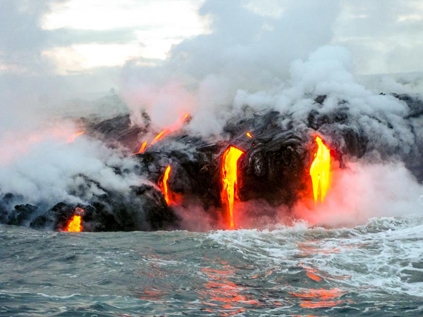 Hawaii Lava Big Island Puna