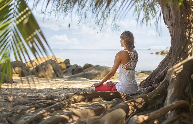 Hawaii Huna Magie Meditation am Strand