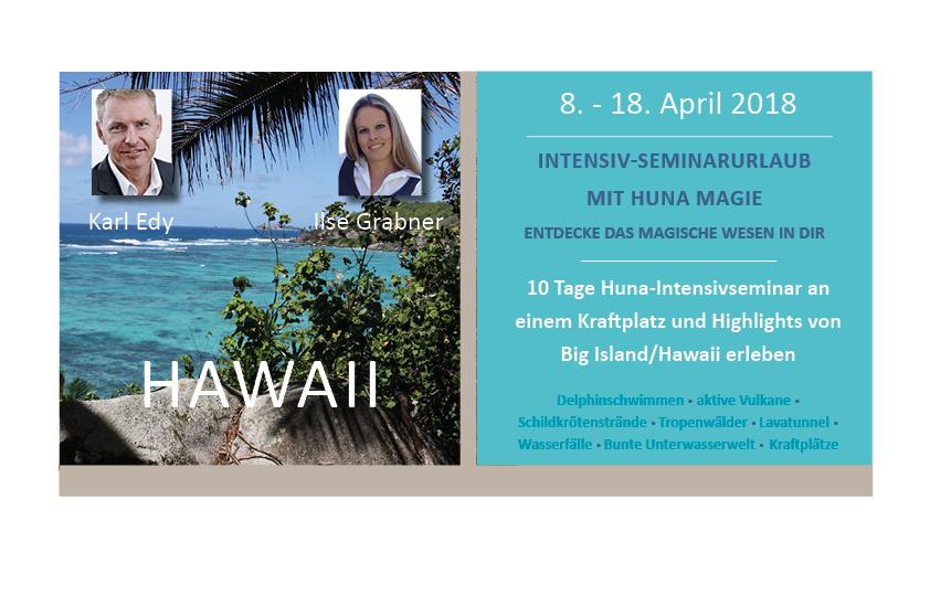 Intensivseminar Reise nach Hawaii mit Huna Magie
