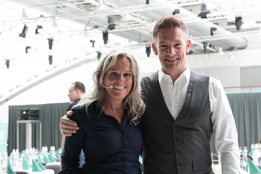 Ilse Grabner mit Andi Knoll, Ö3